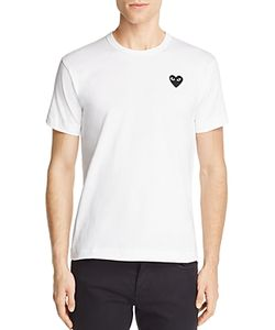Comme Des Garçons Play | Comme Des Garcons Play Heart Logo Graphic Tee