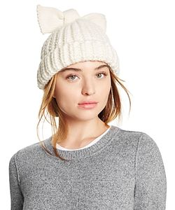 Federica Moretti | Knit Hat With Bow