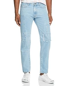 Ovadia & Sons   Patchwork New Tape Fit Jeans In