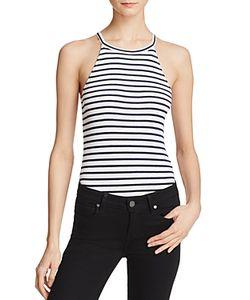 Splendid | Striped Sleeveless Bodysuit