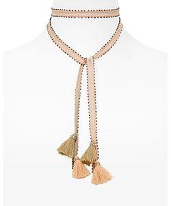 Chanluu | Chan Luu Beaded Tassel Necktie 100 Exclusive