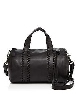 Mackage | Whipstitch Leather Duffel Satchel
