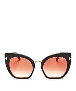 Tom Ford | Oversize Cat Eye Sunglasses 53mm