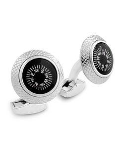 Tateossian | Round Compass Cufflinks