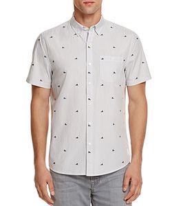 Michael Bastian | Sneaker Stripe Regular Fit Button-Down Shirt