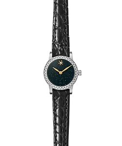 Gomelsky | The Agnes Varis Strap Watch With Diamonds 20mm