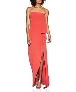 Halston Heritage | Strapless Crepe Gown 100 Exclusive