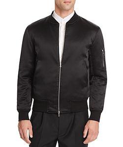 Ovadia & Sons   Silk Reversible Bomber Jacket