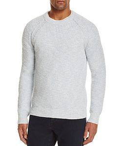 The Men's Store At Bloomingdale's | Marled Cotton Shaker Stitch Sweater