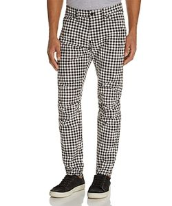 G-Star Raw | 5629 3d Chefs Check New Tape Fit Canvas Pants