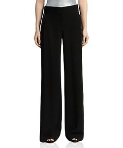 Halston Heritage | Wide-Leg Crepe Trousers