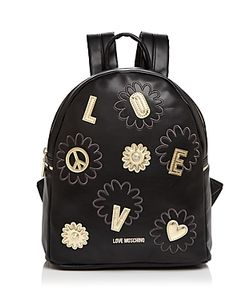 Love Moschino | Daisy Patchwork Leather Backpack