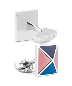 Thomas Pink | Four Panel Pyramid Cufflinks