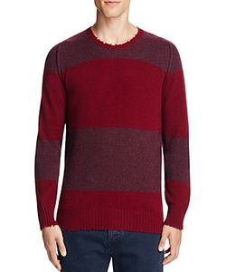 Pringle Of Scotland | Wool Vintage Stripe Crewneck Sweater 100