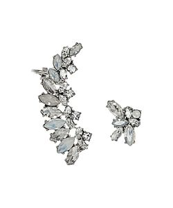 Marchesa | Mismatch Ear Climbers Set Of 2