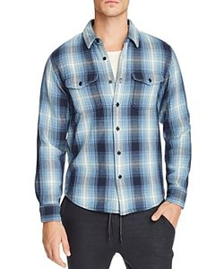 Outerknown | Blanket Plaid Slim Fit Button-Down Shirt