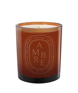 Diptyque | Ambre Scented Candle Colo Glass Jar