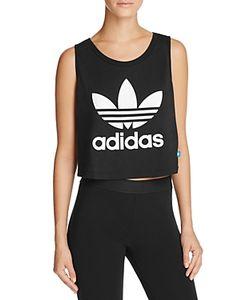 Adidas Originals | Loose Crop Trefoil Tank