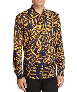 Vilebrequin | En Palms Linen Regular Fit Button-Down Shirt