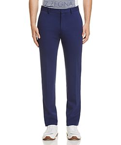Z Zegna | Solid Slim Fit Trousers