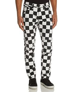 G-Star Raw | 5639 3d Shepherds Check New Tape Fit Canvas Pants