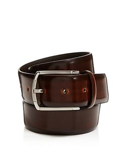 Canali | Burnished Cordovan Leather Belt