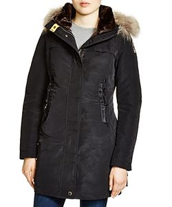 Parajumpers | Selma Fur Trim Down Parka