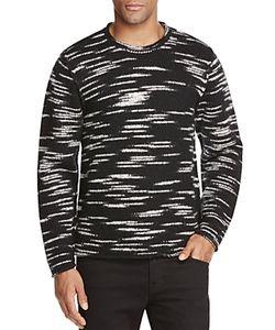 Ovadia & Sons   Roll Edge Crewneck Sweater