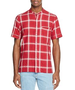 Ovadia & Sons   Crosby Blur Slim Fit Button-Down Shirt