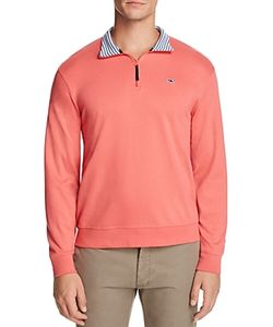 Vineyard Vines | Quarter Zip Cotton Sweater