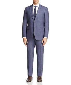 Canali | Micro Pattern Classic Fit Travel Suit