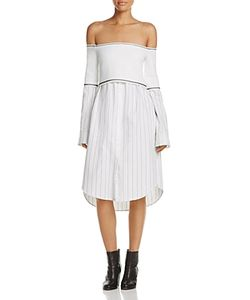 DKNY | Laye Look Off-The-Shoulder Dress