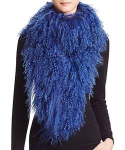 Jocelyn   Tibetan Lamb Fur Scarf 100 Exclusive