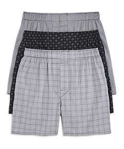The Men's Store At Bloomingdale's | Cotton Boxers Pack Of 3