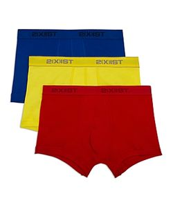2xist   2xist Cotton No Show Trunks Pack Of 3