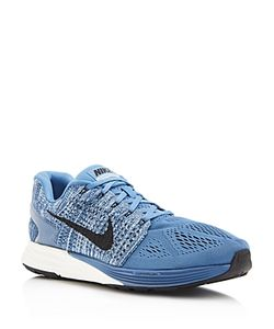 Nike | Mens Lunarglide Lace Up Sneakers