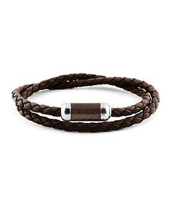 Tateossian | Woven Leather Bracelet
