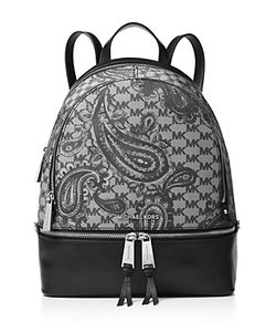 Michael Michael Kors | Studio Rhea Medium Zip Paisley Backpack