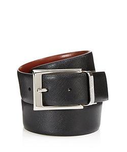 Canali | Reversible Saffiano Leather Belt