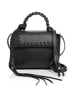 Elena Ghisellini | Angel Boho Frills Small Leather Satchel