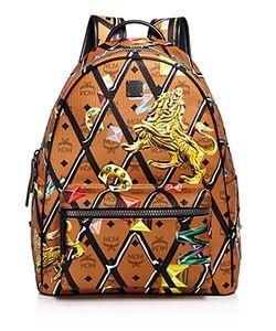 MCM | Stark Motif Rombi Backpack