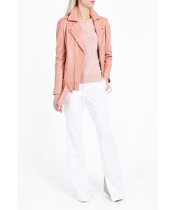Theory | Womens Tralsmin Leather Jacket Boutique1