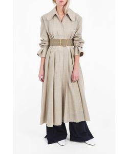 Jacquemus   Womens Long Flounce Cuff Coat Boutique1