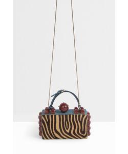 Tonya Hawkes | Womens Zebra Snake Jewelled Clutch Boutique1