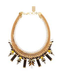 Lizzie Fortunato Jewels   Lagoon Gold-Platd Bras Ncklace