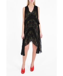 Marco de Vincenzo | Womens Pleated Cape Dress Boutique1