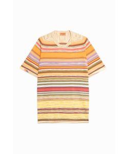 Missoni | Mensstripe Crew-Neck T-Shirt Boutique1