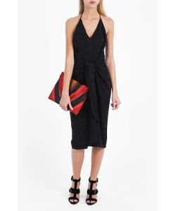 Martin Grant | Womens Tie Front Spotted Dress Boutique1