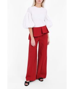 Rosie Assoulin | Womens Ruffle Flap Trousers Boutique1