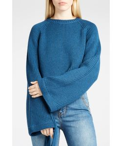 Ellery | Womens Tie-Sleeve Ribbed Jumper Boutique1